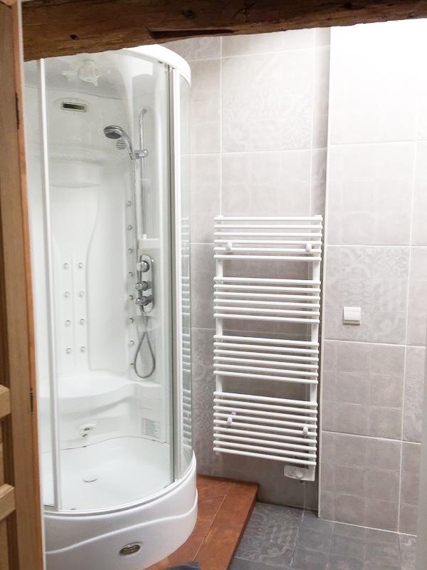La douche du Gîte