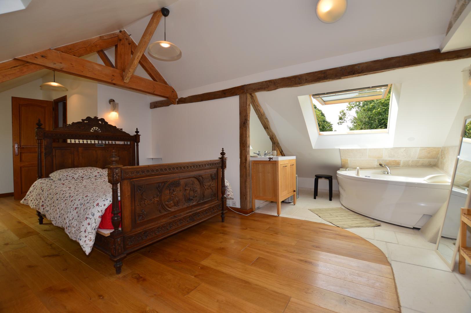 La maison de vacances à Saint Lunaire