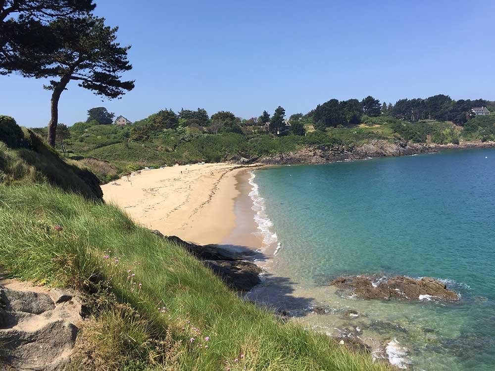 La plage de la fourberie