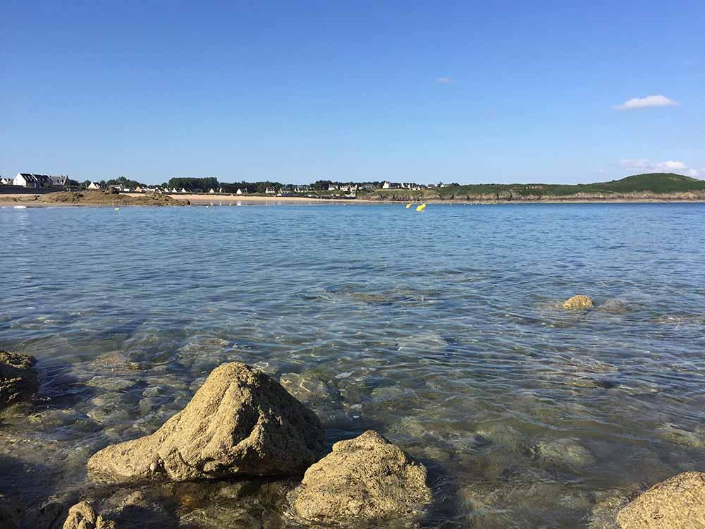 La plage de Longchamp