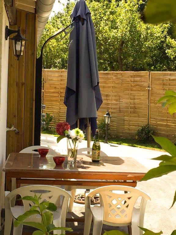 Le salon de jardin